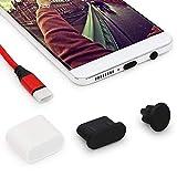 iMangoo Tipo C antipolvere spina & 3,5 mm cuffia spina & USB C Caps Protegge cavo USB Port compatibile con Samsung Note 9 S9 S10 Plus LG G6 V20 Google Pixel 3 XL Huawei P20 Mate 10 15 Pacchi