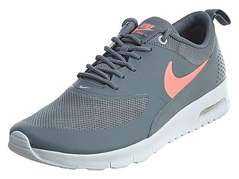 Nike NIKE AIR MAX THEA (GS) Mädchen laufen - Schuhe 814444-007_6.5Y-COOLE GRAU/LAVA GLÜHEN - reines Platin -