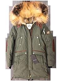 Nicole Benisti Brera Damen Winterjacke JK9078 Kaninchen Fuchspelz Parka  Mantel Größe XS ... 1beca8456d