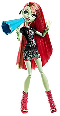 Mattel Monster High BDF09 - Monster-Fan Venus McFlytrap, Puppe (Monster High Puppen Deuce)