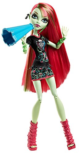 Mattel Monster High BDF09 -  Monster-Fan Venus McFlytrap, Puppe (Monster High Zieht)