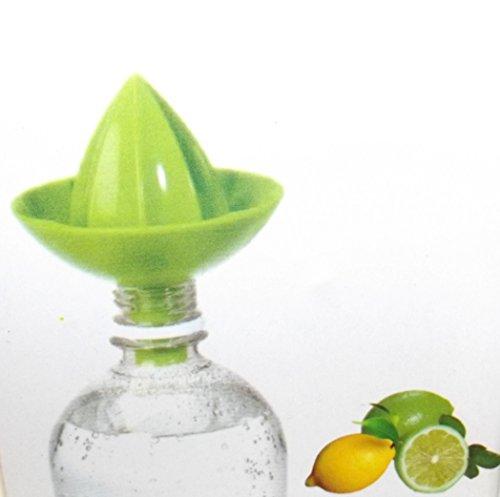 unbrand Küchen Gadget Zitronenpresse Zitruspresse to go mit Aufsatz für die Flasche! Z