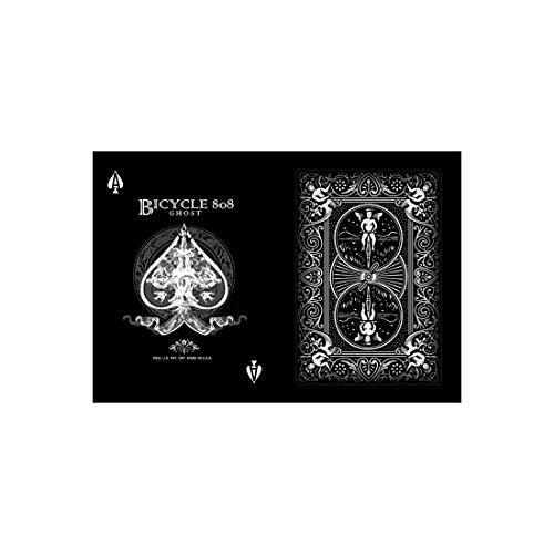 Preisvergleich Produktbild Bicycle Black Ghost Spielkarten (2. Auflage, Pokergröße)