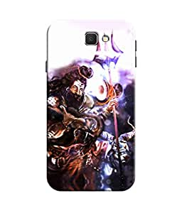 Sketchfab Lord Shiva Latest Design High Quality Printed Designer Back Case Cover For Samsung Galaxy J5 Prime