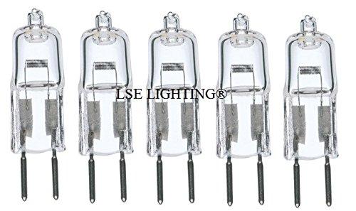 5Stück, 35Watt 35W 12V 12Volt G6.35Bi-Pin JC Art Halogen-Leuchtmittel GY6.35 -