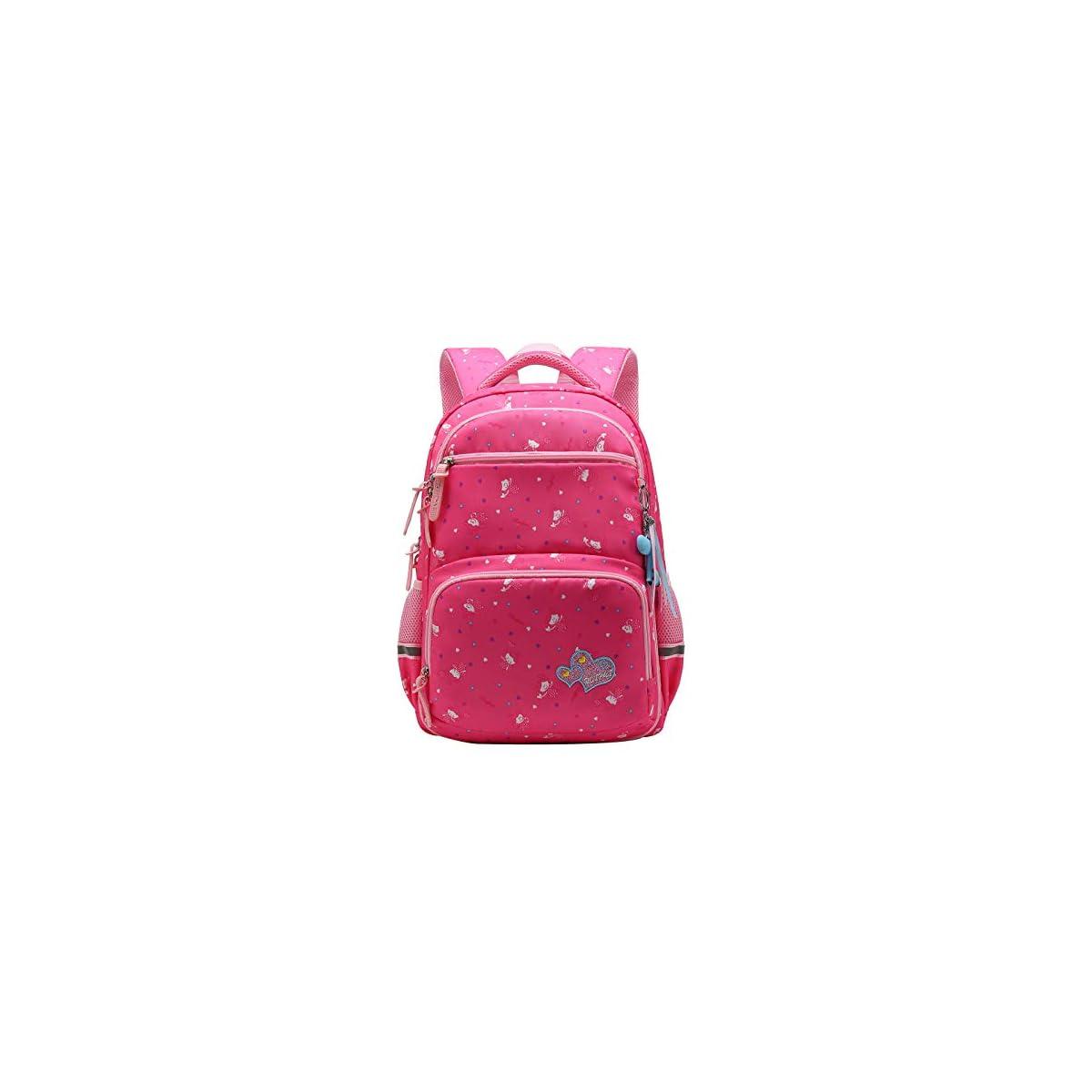 41z7jOgvEIL. SS1200  - SellerFun UKXB106 - Mochila Infantil Niños, 22 L Style B Rose (Rojo) - UKXB426A1