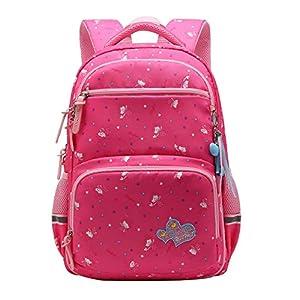 SellerFun UKXB106 – Mochila Infantil Niños, 16 L Style B Rose (Rojo) – UKXB426A2