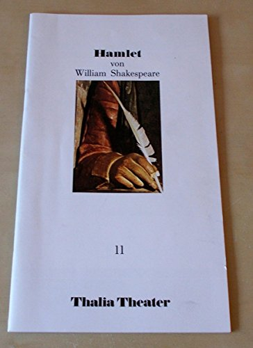 Programmheft 11 HAMLET von William Shakespeare. Premiere 21. September (Shakespeare Kostüme Hamlet)