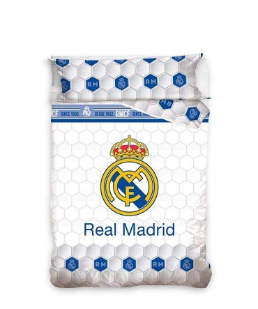 10XDIEZ Funda NÓRDICA Real Madrid - Medidas Cama