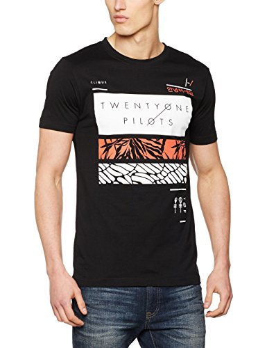 Urban Classics T-Shirt Twenty One Pilots Filler Bars, Farbe:black;Größe:XXL