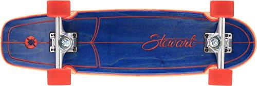 """Flying Wheels, Skateboard, Blu (Blau - Marineblau), 28,25"""""""