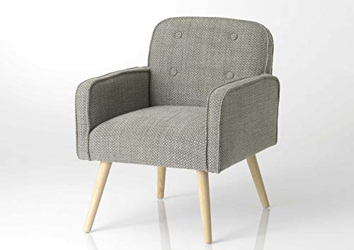 Adept Home Fauteuil Nuage Gris, Collection Nuage