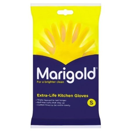Marigolds Extra Life kitchen Glove Small 1 x 6 pairs