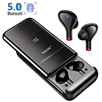 Bluetooth Headphones Wireless Sport Earbuds In Ear Bluetooth 5.0 Headset CVC 8.0 Noise Canceling Stereo Sound with Mic 500H Playtime 10000 mAh Battery LED Digital Display Touch Earphones for Gym
