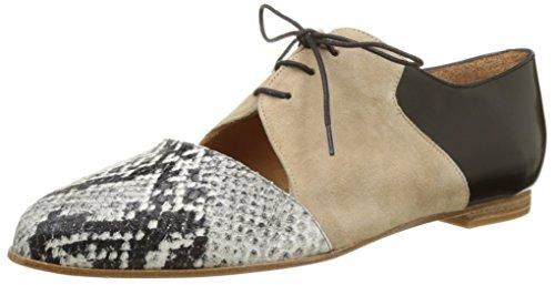 Emma Go Casey, Chaussures de marche nordique femme Multicolore (Noir Ophidia & Suede sand & Cordoban Black)