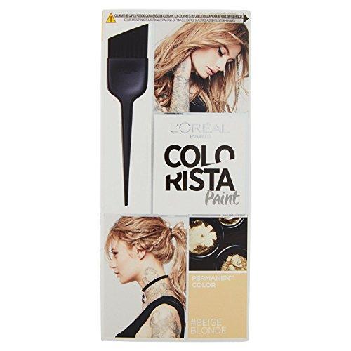 L'oréal paris colorista paint colorazione permanente, biondo beige (beige blonde)