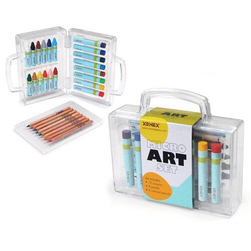 xonex-micro-art-ensemble-les-12-micro-crayones-micro-8-crayons-de-couleur-8-micro-pastels-a-lhuile-5