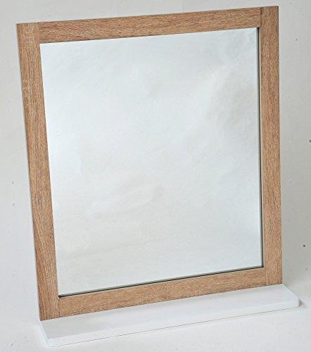 Miroir et Tablette de salle de bain -TENDANCE