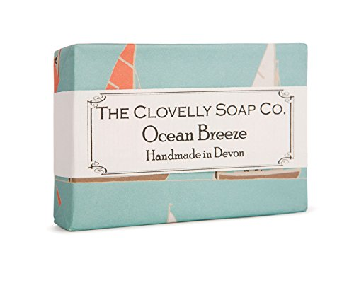 Clovelly Soap Co Natural Handmade Ocean Breeze Soap Bar for all Skin Types 100g