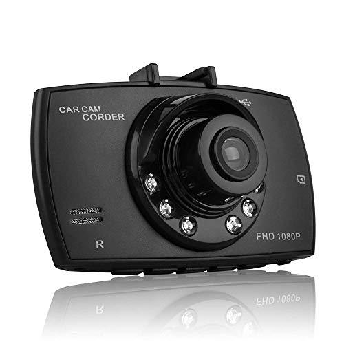"""Mini Dash Cam Auto Kamera 2.4\"""" LCD Fahrvideo Recorder 100 ° / 140 ° Weitwinkel Dashboard DVR Eingebauter G-Sensor"""