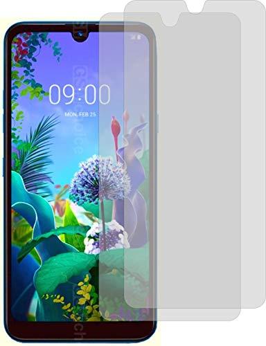 2X ANTIREFLEX matt Schutzfolie für LG Q60 Displayschutzfolie Bildschirmschutzfolie Schutzhülle Displayschutz Displayfolie Folie
