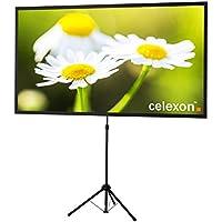 celexon Mobile-Stativ-Leinwand Ultralightweight - 177 x 100 cm - 16:9 - Gain 1,0 - schneller Auf- und Abbau - vormontierter Ständer