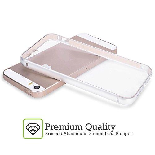 Head Case Designs Mexique Mexicain Drapeaux Vintage Argent Étui Coque Aluminium Bumper Slider pour Apple iPhone 5 / 5s / SE Italie Italien