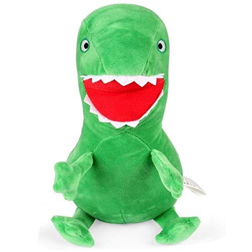 Ogquaton Muñecas de dinosaurios lindas muñecos de peluche de animales de peluche de bebé juguetes de peluche El mejor regalo de cumpleaños 1 pieza verde