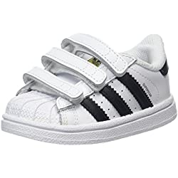 adidas Superstar Cf I, Zapatillas de Deporte Unisex Niños, Varios Colores (Ftwr White/Core Black/Ftwr White), 26 EU
