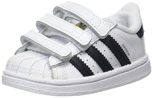 on sale 71ac7 c0e52 adidas Superstar CF I, Zapatillas Unisex bebé, Blanco Core BlackFootwear  White 0