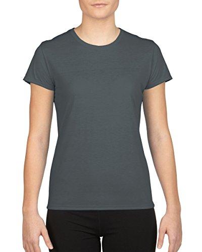 GILDAN - T-shirt -  Femme Charbon