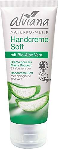 Alviana Naturkosmetik Handcreme Soft mit Bio-Aloe Vera 75 ml