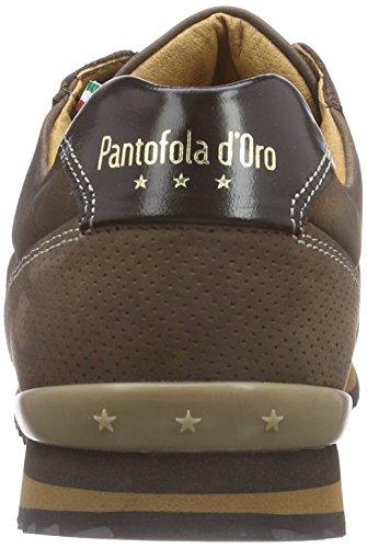 Pantofola dOro Teramo Low Men, Baskets Basses homme Marron - Grain de café
