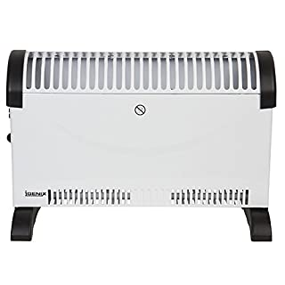 Igenix IG5200 Portable Electric Convector Heater with Adjustable Thermostat, Can be Freestanding or Wall Mounted, Ideal for Home or Office, 2000 W, White