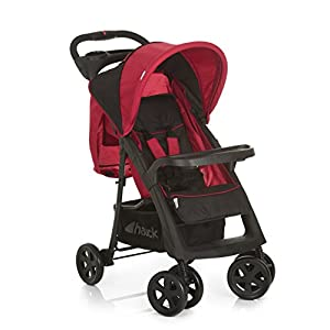 Hauck Shopper Neo II, Folding Pushchair from Birth to 25 kg, Lightweight with Lying Position, Two Cupholder Trays, One Hand Fold, Caviar/Tango Fisher-Price  Attaches to stroller for playtime on the go  Turn the lion steering wheel to hear short songs  Push the lion's face for silly sound effects (Beep beep!) 11