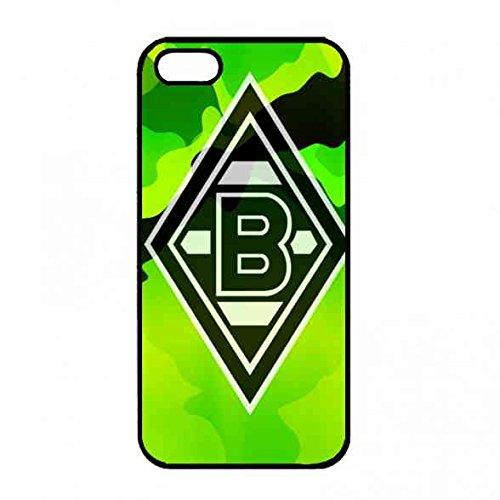 Apple iPhone 5(S) Hülle,Das Logo von Borussia Mönchengladbach Telefon-Kasten,Bundesliga Gladbach Hülle für iPhone 5(S)