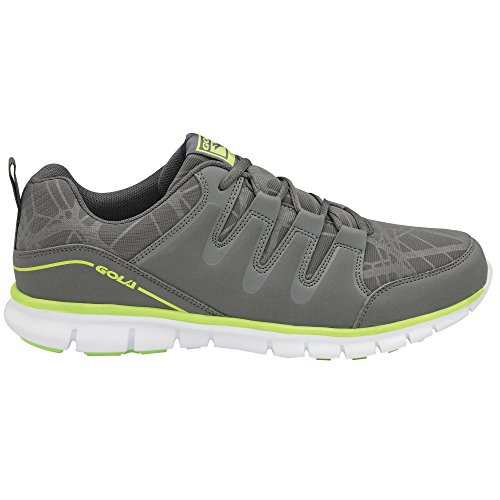 Gola Termas 2, Chaussures de Running Compétition homme Charcoal/Grey