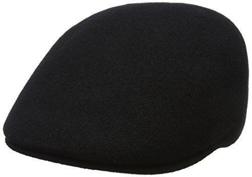 Imagen de kangol seamless wool 507, sombrero para hombre, negro black , medium