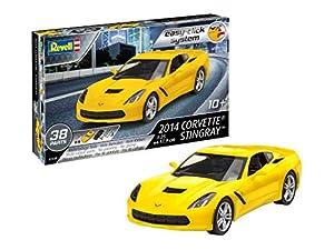 Revell-2014 Corvette Stingray, Escala 1:25 Kit de Modelos de plástico, 1/25 (Revell 07449 7449)