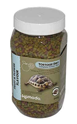 Komodo Complete Holistic Tortoise Diet Fruit and Flower from Komodo