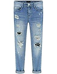Etosell Femme Summer Style Lache Trous Sarouel Denim Dechire Jeans