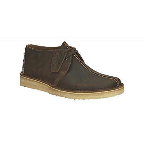 Clarks Hommes Beeswax Cuir Desert Trek Chaussures