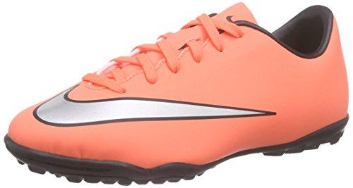 Nike Jr Mercurial Victory V Tf, Scarpe da Calcio Unisex Bambini Arancione (Bright Mango/Hyper Turquoise/Metallic Silver)