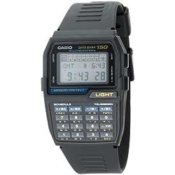 Casio DBC150-1 - Reloj para hombre con banco de datos digital