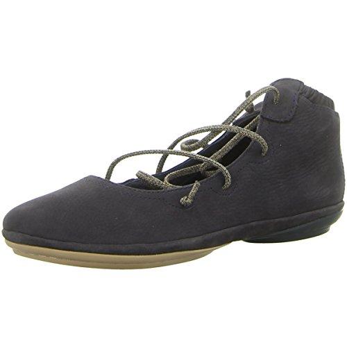 CAMPER Damen Ballerinas Rign K 400194-008 Blau - Camper Schuhe Frauen Für