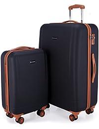 HAUPTSTADTKOFFER - Wannsee - Koffer Handgepäck Hartschalen-Koffer Trolley Rollkoffer Reisekoffer 3er Koffer-Set Trolley-Set, TSA, (S/M/L)