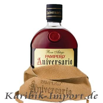 Pampero Aniversario im Lederbeutel 3 x 0,7 Liter