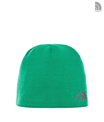 The North Face Berretto Bones Unisex – Adulto, Primary Green/Vanadis Grey, Taglia Unica