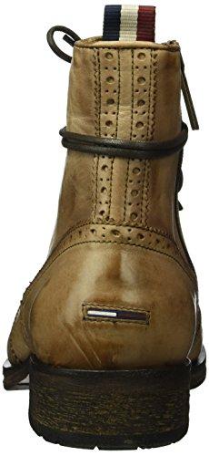 Hilfiger Denim D2385illan 9a1, Bottes Classiques homme Marron - Braun (Camel 901)