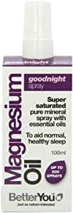 Mieux vous magnésium huile Goodnight Spray, 100 ml